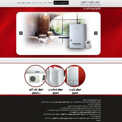 طراحی سایت پکیج سالمی